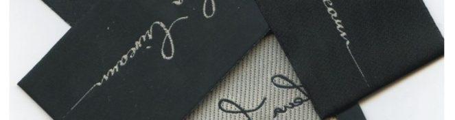 Etichete satin imprimate
