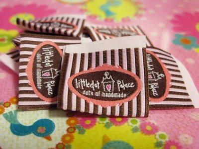 Etichete taffeta tesute Atelierul de tesut